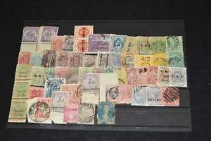 British Commonwealth Mainly 19th Century on Stockcard, 99p Start