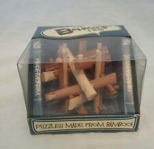 The bamboozlors range panda monium bamboo puzzle  NEW IN BOX, level 3/8