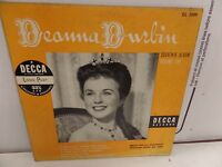 """Deanna Durbin Souvenir Album Vol.1 DL-5099 DECCA Microgroove 10""""33rpm 092016DBL"""