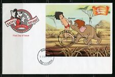 Gambia Disney The Jungle Book 1999 Souvenir Sheet Ii First Day Cover