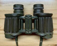 Hensoldt Wetzlar Binoculars 8x30 German Military Vintage w/ Strap