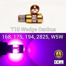 T10 W5W 194 168 2825 12961 License Plate Light Purple 27 Canbus LED M1 For Chevy