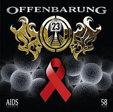 PETER FLECHTNER - CATHERINE FIBONACCI: OFFENBARUNG 23, FOLGE 58: AIDS  CD NEU