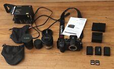 Panasonic Lumix DC-GH5 Mirrorless. 15mm Leica, 7-14mm and 14-140mm g vario &MORE
