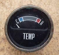 Classique Ford Tableau de Bord Temperature 1960s Jauge Température 1970s