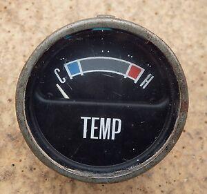 Classic FORD Dashboard Temperature 1960s Temp Gauge 1970s