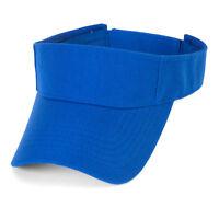 TopHeadwear Royal Blue Kids Blank Visor