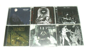 Lot of 6X CD's / BLACK METAL / Storm / Withershin / Vemoth / Occultus / NEW