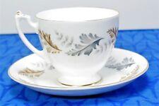 Coalport Bone China OAKWOOD Footed Tea Cup and Saucer  SET(s) , MINT