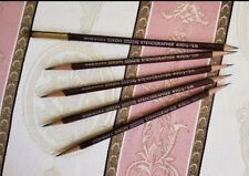 5x Pencils 1 extender Joseph DIXON  Stenographer # 490 1/2 Soft Med RARE