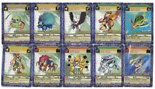 TOEI BANDAI DIGIMON DIGI-BATTLE CCG 10 CARD LOT - WORMMON + ARMOR DIGIVOLUTIONS