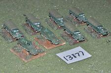 10mm Segunda Guerra Mundial Alied vehículos (como Foto) (13877)
