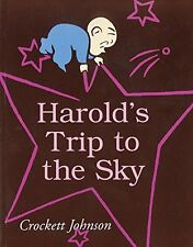 Harold and the Purple Crayon  Harold's Trip to the Sky (pb) Crockett Johnson NEW