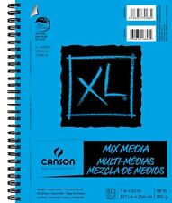 Canson Multi Media Paper Pad, Xl Series 60 Pages, 7inch x 10inch , New, Free Shi
