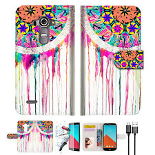 Dream Catcher Wallet TPU Case Cover For LG G4-- A015