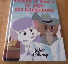 Hard Cover French Book Bernard et Bianca au Pays des Kangourous ! Walt Disney