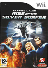 FANTASTIC FOUR RISE OF THE SILVER SURFER for Nintendo Wii - PAL