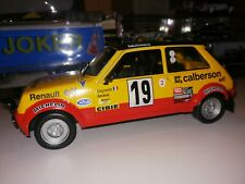 Coche Rally Rallye Renault 5 Alpine 1978 1:18 Altaya