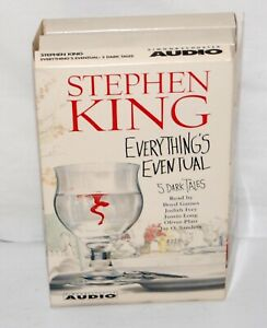 Everything's Eventual Stephen King Audio Book Cassette Tape Unabridged 5 Stories