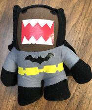 """Domo Batman Bat Man Plush Stuffed Toy Figure 7"""" tall DC Comics Missing Tags"""