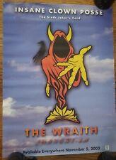 Insane Clown Posse - The Wraith Nov. 6th Poster twiztid psyhcopathic records icp