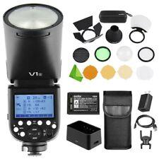 New Godox V1S V1-S Flash TTL 1/8000s HSS Speedlite Flash for Sony + AK-R1 Kit
