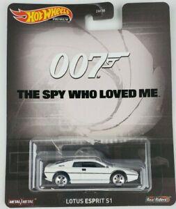Hot Wheels James Bond 007 Lotus Esprit S1 Retro Entertainment