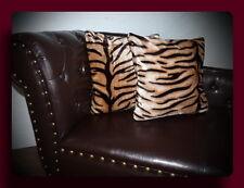 Kissen Kissenhülle Dekokissen im Tierfell - Design Modell Tiger Modell II