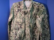 NEW AOR2 BLOUSE SIZE LARGE X-LONG LXL US NAVY WORK UNIFORM TYPE 111 AOR2 PATTERN