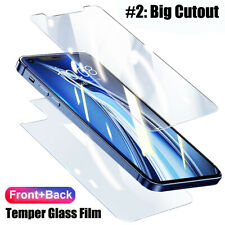 Soft Hydrogel Film Soft Front+Back Protector Cover For iPhone 12 Pro Max 12 Mini