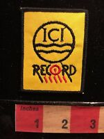 Unknown ICI RECORD Patch ~ ?Came With Racing Motorsport Auto 66ZZ