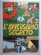 BRICK BRADFORD - L' AVVERSARIO SEGRETO 1 collana gertie daily 57 comic art 1979