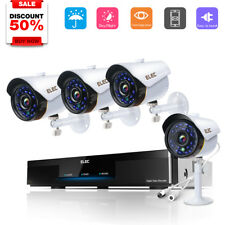 ELEC 8CH 2000TVL 720P HDMI DVR CCTV Outdoor Night Vision Security Camera System