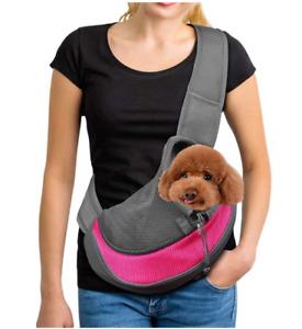Pet Carrier Dog Cat Comfort Shoulder Tote Puppy Travel Bag Sling Backpack