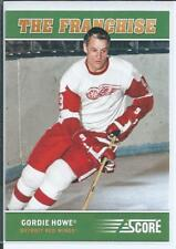 Gordie Howe  12/13 Score  #OS2  Original Six -The Franchise - Insert