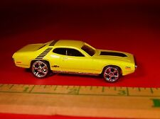 100% HOT WHEELS '71 PLYMOUTH GTX 440 MUSCLE CAR RUBBER TIRE LIMITED EDITION!