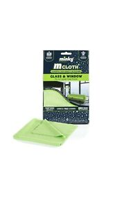 2 X Minky M Cloth Glass And Window Mircrofibre Cleaning Cloth Mrs Hinch Green