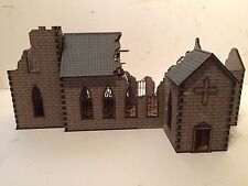 28mm Ruined  NORMAN CHURCH kit