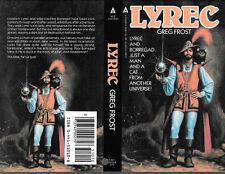 Greg Frost Lyrec autographed book cover