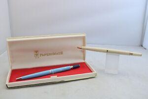 Vintage (1960) Paper Mate Princess Ballpoint Pen, 2 Finishes, UK Seller