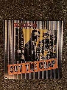 The Clash - Cut The Crap - Vinyl LP - FE 40017 - EX/VG+. Original Inner Sleeve