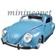 MAISTO 31023 OUTLAWS VW VOLKSWAGEN BEETLE 1/24 DIECAST MODEL CAR MATTE BLUE