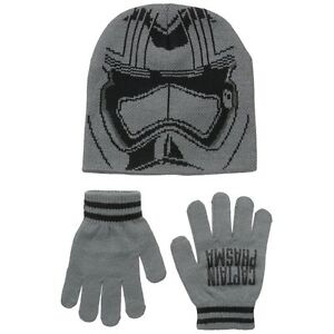 Star Wars - Episode VII Captain Phasma Helmet Youth Beanie and Gloves Set