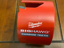 New Milwaukee 4 14 Big Hawg Withcarbide Teeth Hole Saw 49 56 9255