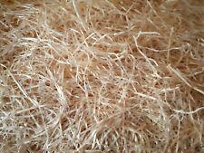 (ab 6,25€/Kg) Premium Holzwolle unbehandelt 100% Bio Füllmaterial Einstreu Deko