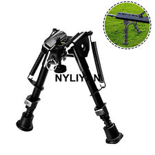 "6"" to 9"" Adjustable Spring Return Sniper Bipod&Sling Swivel 4 Rifle Gun Hunting"