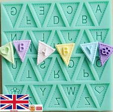3d in Silicone Alfabeto Lettere Torta Stampo vassoi di Cioccolato Fondente Decorazione Strumenti