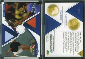 2009 Ace Game Set Match-Used US Open Silver #US35 ROGER FEDERER/ANDY RODDICK /79