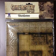 Paizo GameMastery Flip-Mat - Warehouse OOP New in Pack Pathfinder D&D Dungeons