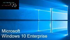 Microsoft Windows 10 Enterprise Lizenzkey inkl. Gratis DVD 32 64 Bit Win DL